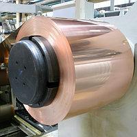 Лента бронзовая 0.11 мм марка БрБ2