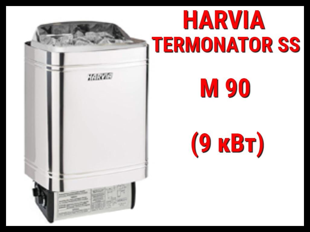 Электрическая печь Harvia Termonator SS M 90 со встроенным пультом
