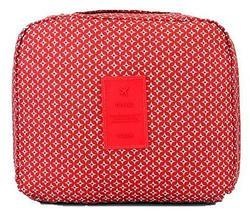 Органайзер-косметичка путешествинника TRAVEL с вешалкой (Красный), фото 3