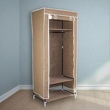 Шкаф-кофр для одежды EASYCARE на молнии складной тканевый (Бордовый), фото 2