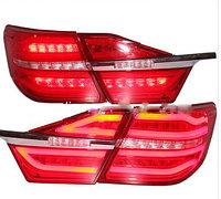 Задние фонари на Camry V55 Mercedes Red Color