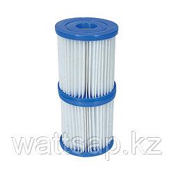 Картридж для фильтров тип I 8х9см, V-1298л/ч, Bestway 58093