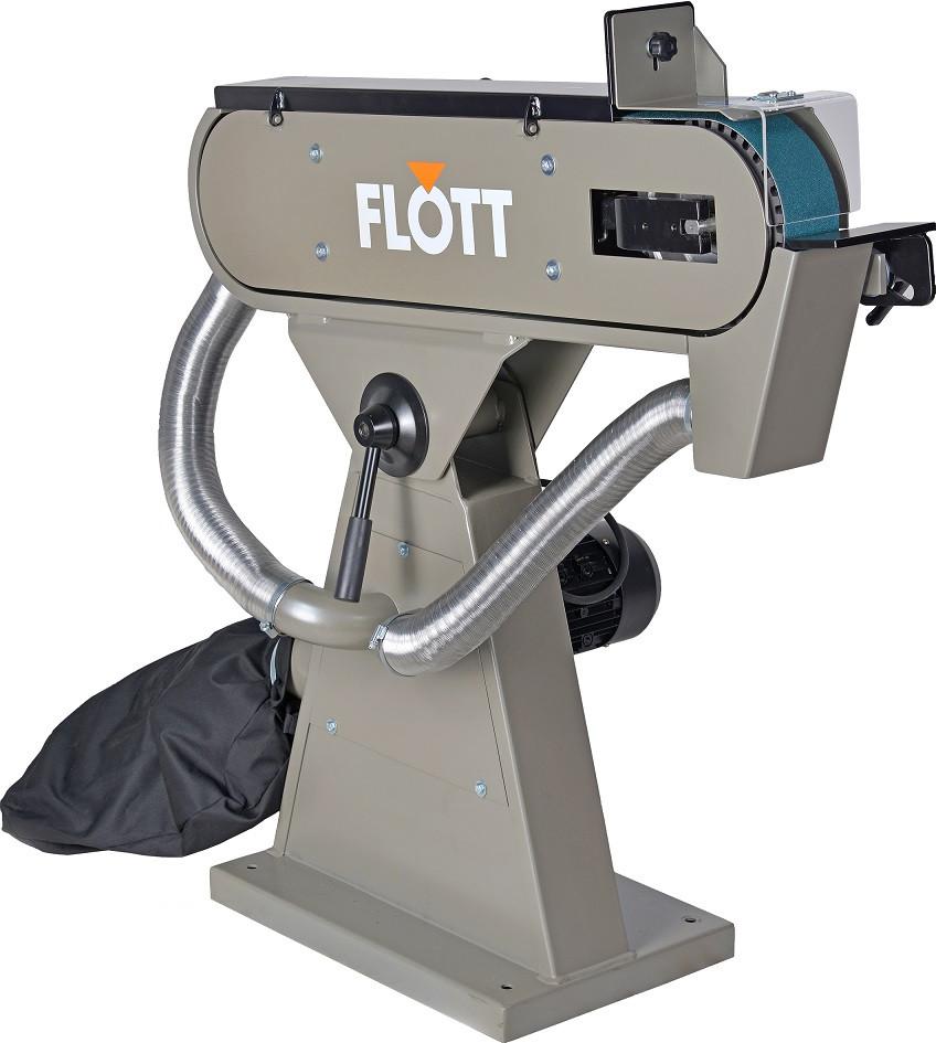Станок ленточно-шлифовальный FLOTT BSM 150 A/pol.