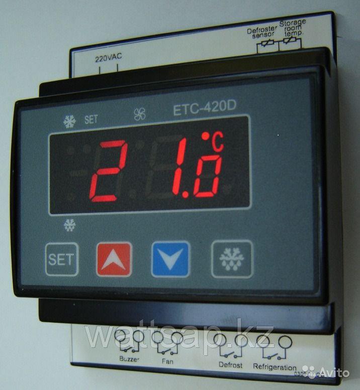 Контроллер температуры на два датчика ETC-420D