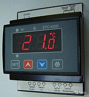 Контроллер температуры на два датчика ETC-420D, фото 1