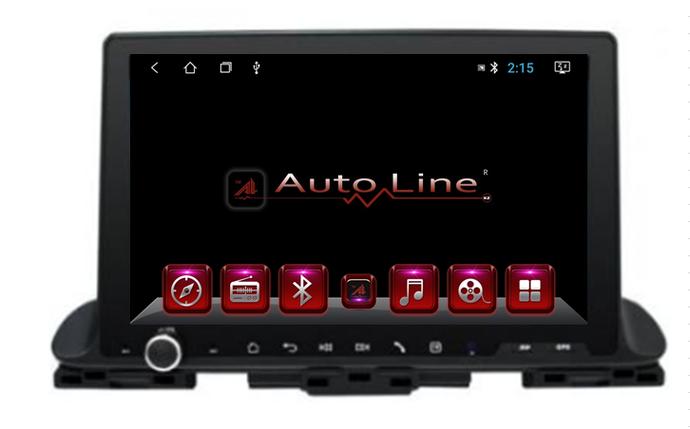 Автомагнитола AutoLine KIA Cerato 2019 HD ЭКРАН 1024-600 ПРОЦЕССОР 4 ЯДРА (QUAD CORE), фото 2