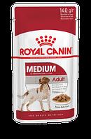 Royal Canin Medium Adult влажный корм для собак средних пород кусочки в соусе, фото 1
