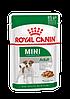 Royal Canin Mini Adult влажный корм для собак мелких пород паучи в соусе