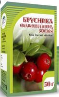 Брусника обыкновенная, листья, 50 гр