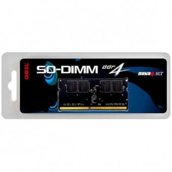 Оперативная память для ноутбука 16Gb DDR4 2400MHz GEIL PC4-19200 SO-DIMM 17-17-17-39 GS416GB2400C17SC
