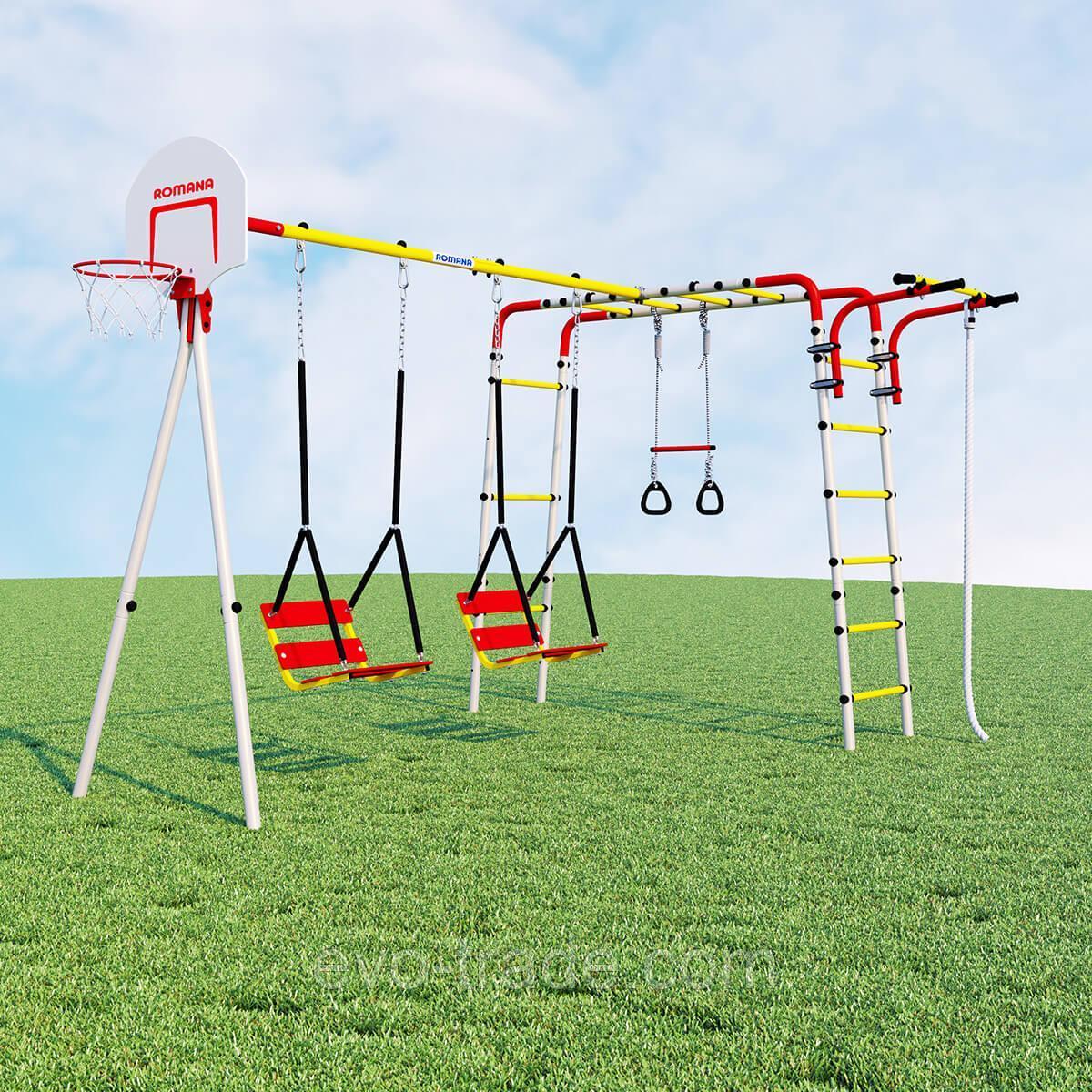 Детский спортивный комплекс Акробат ROMANA  (Цепные качели)