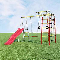 Детский спортивный комплекс Богатырь ROMANA (Фанерные качели), фото 1