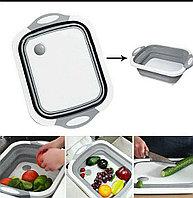 Складная корзина-доска для овощей и фруктов