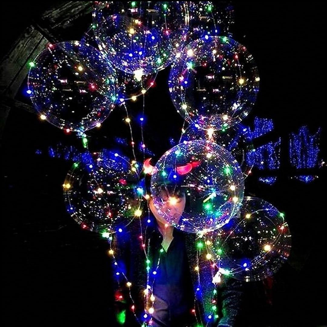 Воздушные шары светодиодные