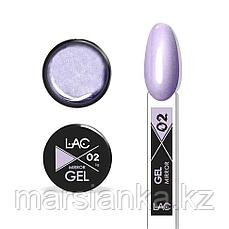 Гель металлик LAC Mirror Gel 02, 5г