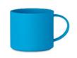 Эко кружка 300 мл, изготовленная из 50% бамбукового волокна и 50% ПП. (Синий)