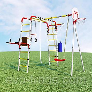 Детский спортивный комплекс Fitness ROMANA (Качели пластиковые)