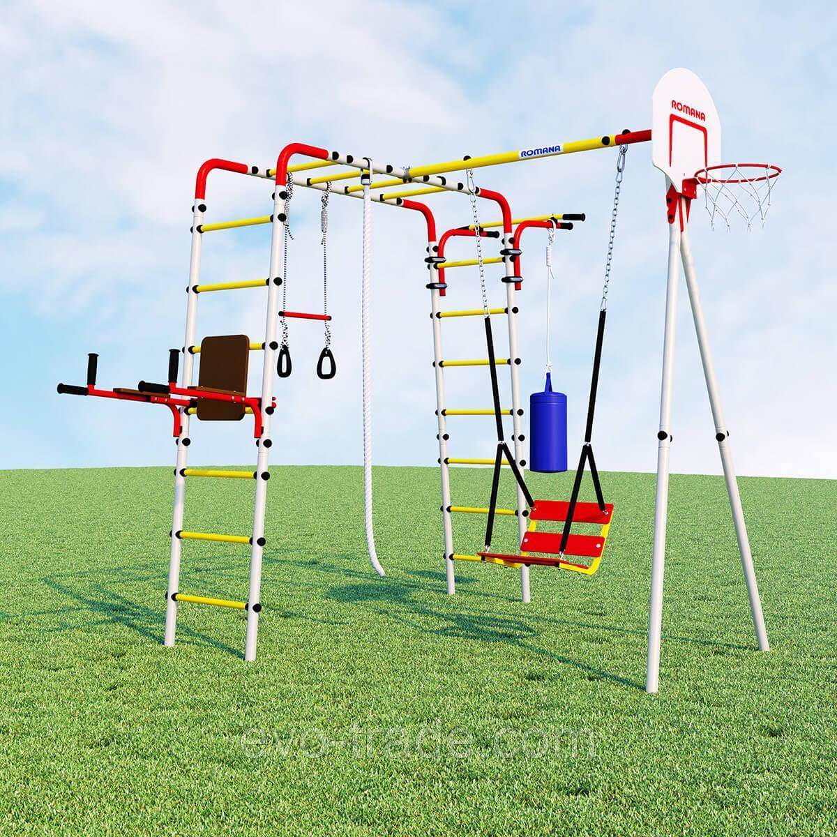 Детский спортивный комплекс Fitness ROMANA (Качели цепные)