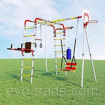 Детский уличный игровой комплекс Fitness ROMANA (Качели цепные)