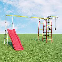 Детский спортивный комплекс Богатырь Плюс  ROMANA (Без качелей), фото 1