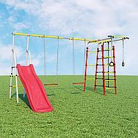 Детский спортивный комплекс Богатырь Плюс  ROMANA (Качели фанерные), фото 1
