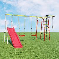 Детский спортивный комплекс Богатырь Плюс ROMANA (Качели пластиковые), фото 1