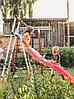 Детский спортивный комплекс Богатырь Плюс ROMANA (Качели пластиковые), фото 3