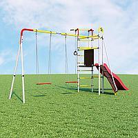 Детский спортивный комплекс Островок Плюс ROMANA  (Качели фанерные), фото 1