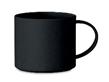 Эко кружка 300 мл, изготовленная из 50% бамбукового волокна и 50% ПП. (Чёрный), фото 2