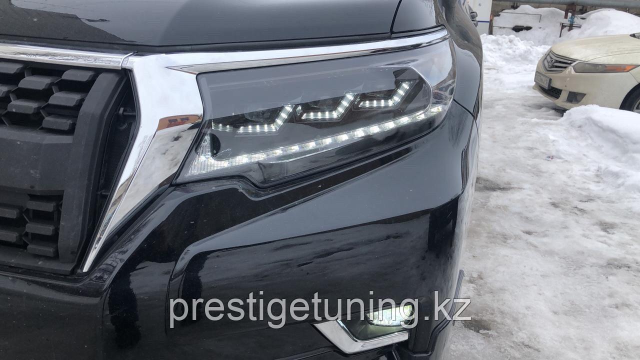 Передние фары на Prado 2018- Lexus style 2