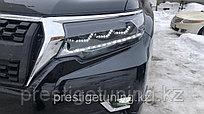 Альтернативная оптика на Land Cruiser Prado 2018-21 дизайн Lexus (вар.1)