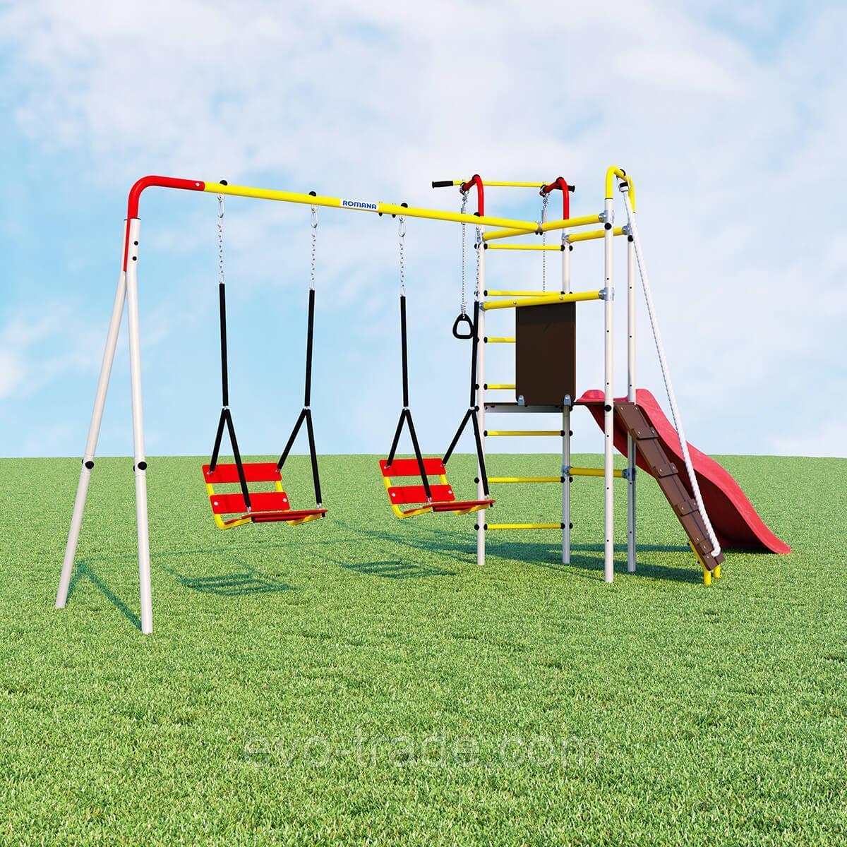 Детский спортивный комплекс Островок Плюс ROMANA (Качели цепные)