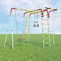 Детский спортивный комплекс Веселая лужайка - 2 ROMANA (Качели фанерные), фото 1