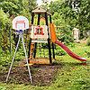 Детский спортивный комплекс Избушка ROMANA (Качели пластиковые), фото 2