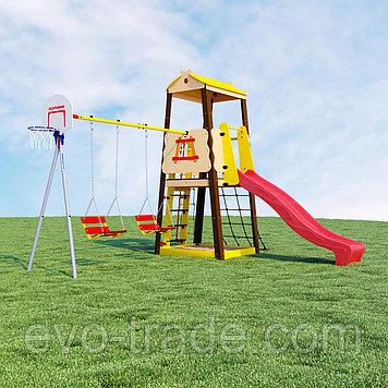 Детский спортивный комплекс Избушка ROMANA  (Качели цепные)