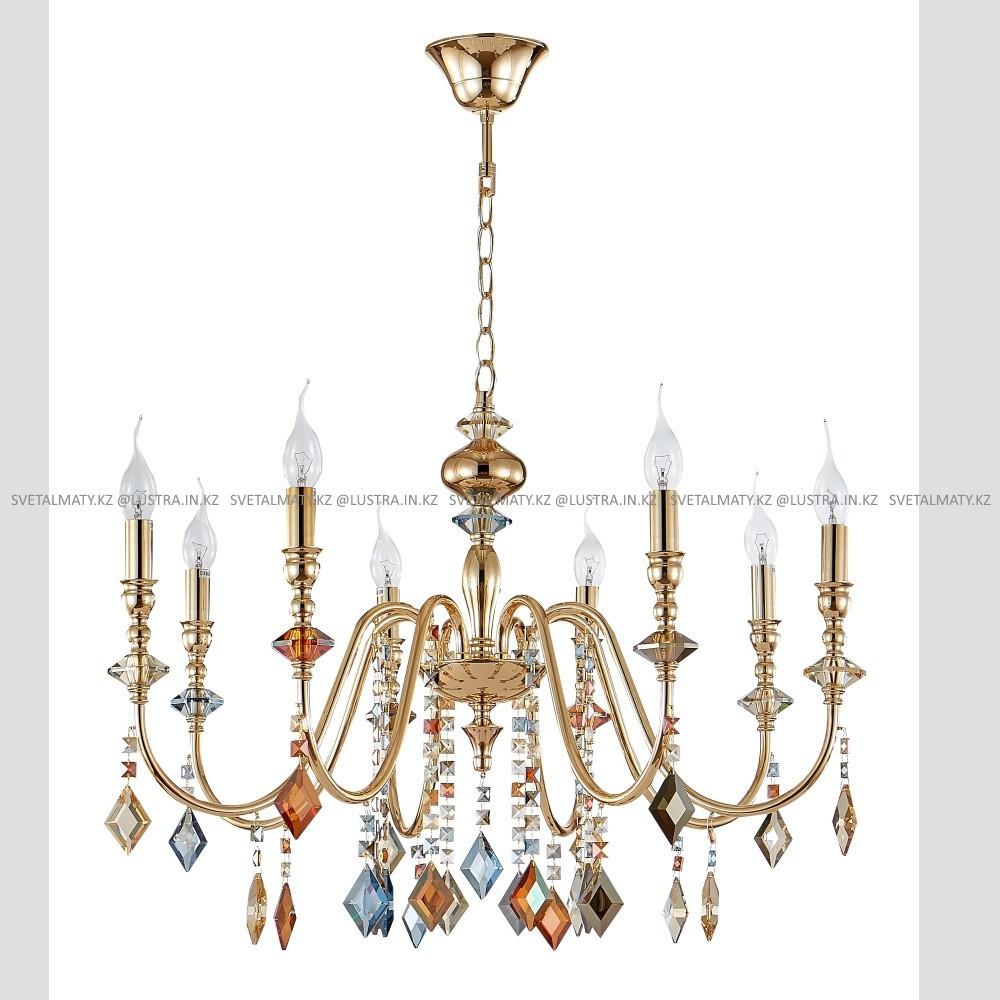 Хрустальная подвесная люстра на 8 ламп