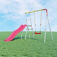 Детский спортивный комплекс Лето  ROMANA(Качели пластиковые), фото 1