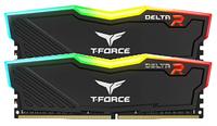 Оперативная память Team Group T-Force DELTA RGB/ DDR4/ 32 GB/ 16 GB x 2/ 3200 MHz/ RGB