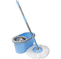 Набор для уборки Easy  Mop Pro 360(швабра,ведро со стальной центрифугой)