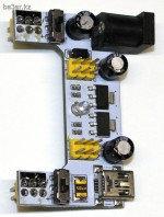 Модуль питания для макетных плат с разъемом мини-USB, 5В + 3,3В