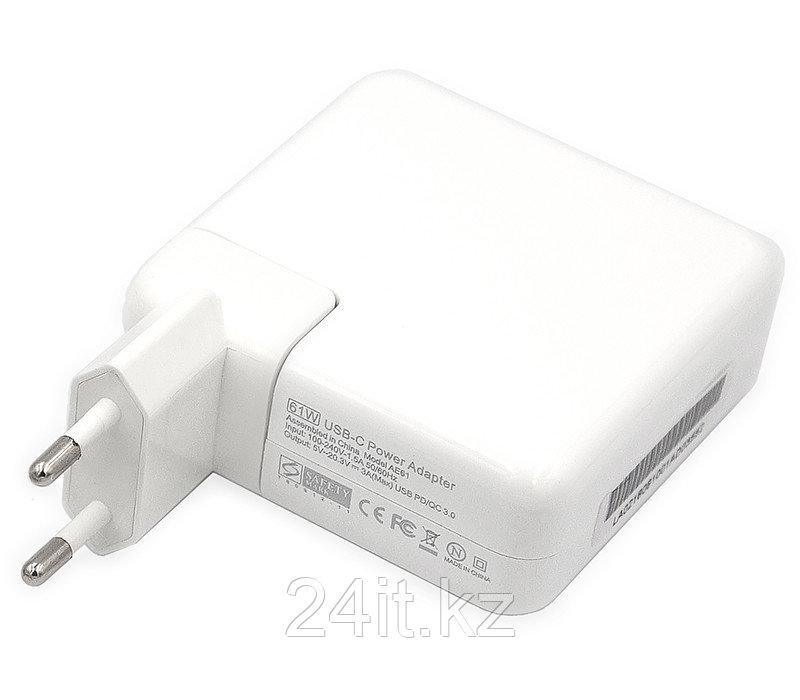 Блок питания для ноутбуков PowerPlant APPLE 220V, 20V 61W (USB Type-C)