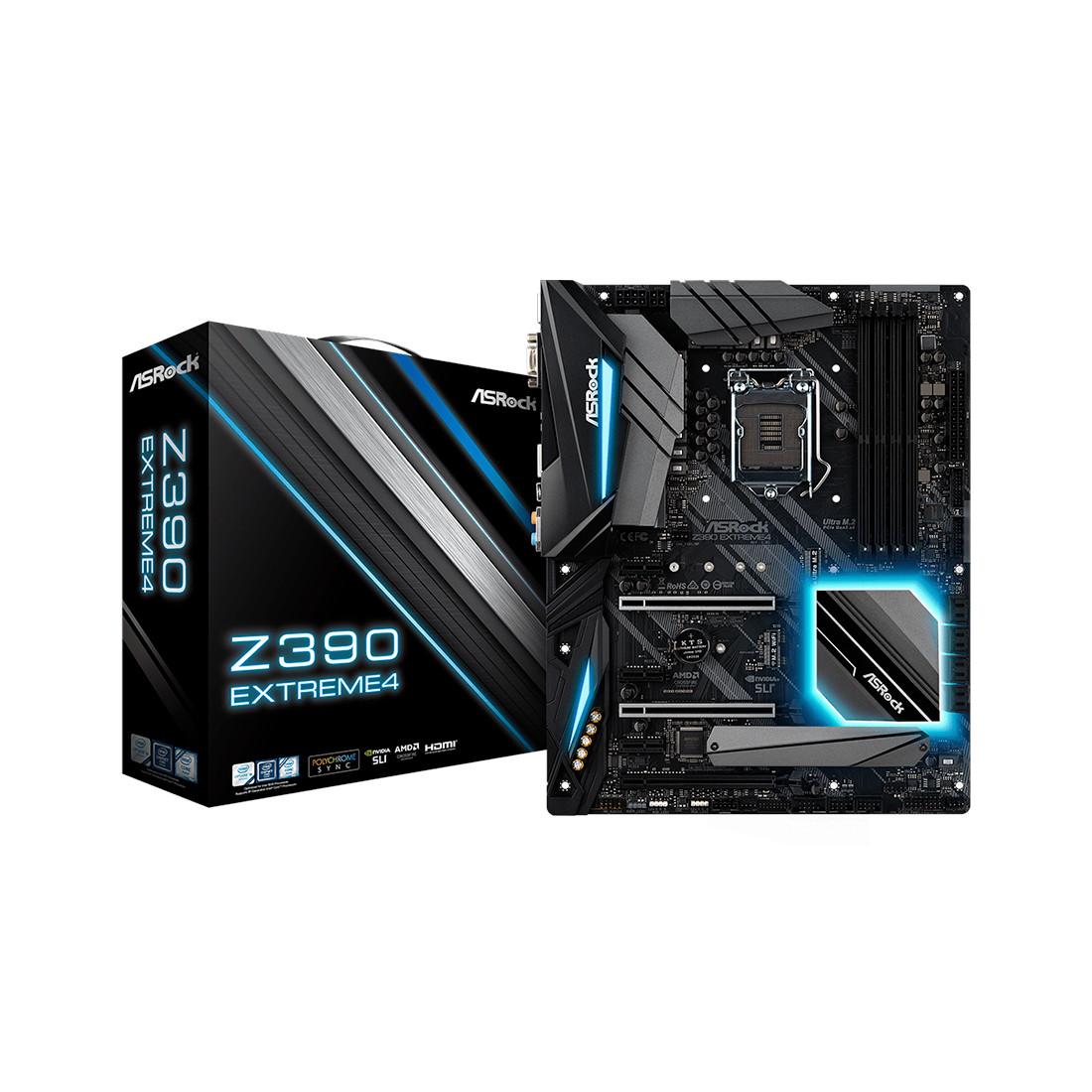 Материнская плата ASRock Z390 EXTREME4
