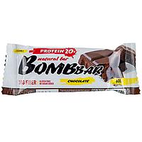"Bombbar Natural bar ""Chocolate"" Протеиновый батончик ""Шоколад"" 60 гр"