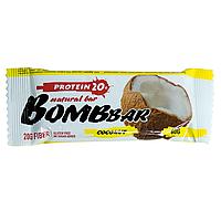 "Bombbar Natural bar ""Coconut"" Протеиновый батончик ""Кокос"" 60 гр"