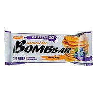 """Bombbar Natural bar """"Pancake"""" Протеиновый батончик """"Смородиново- черничный Панкейк"""" 60 гр"""