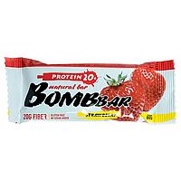 "Bombbar Natural bar ""Strawberry"" Протеиновый батончик ""Клубника"" 60 гр"