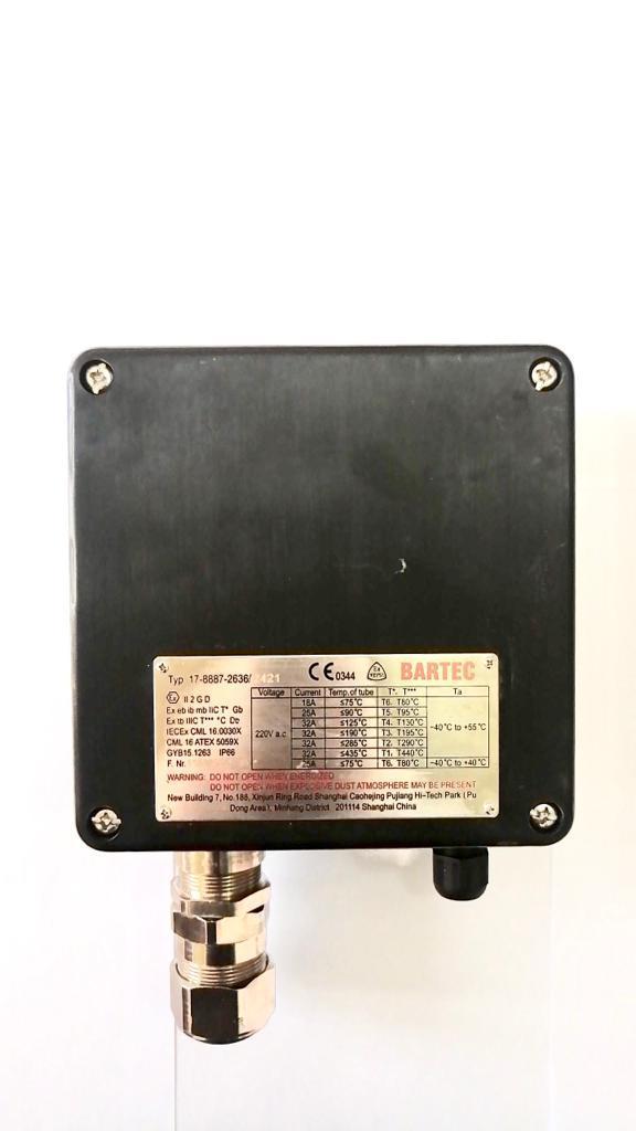 Термостат BARTEC 17-8887/2421
