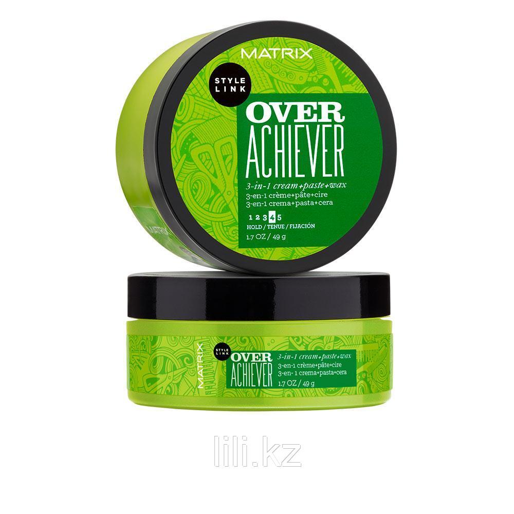 Крем+Паста+Воск 3 в 1 Matrix Style Link Play Over Achiever 3-in-1 cream paste wax 49 гр.