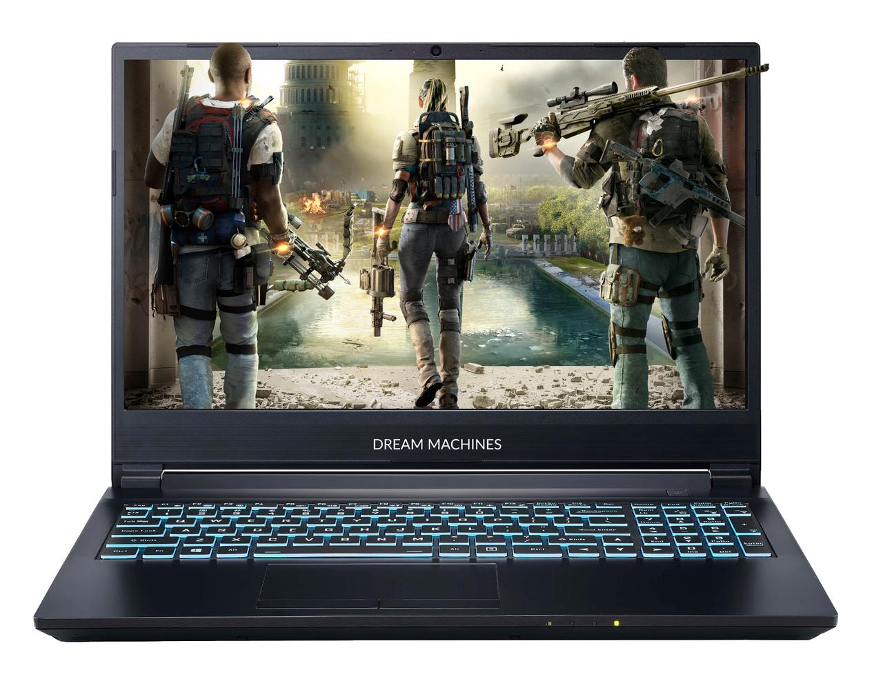Игровой ноутбук Dream Machines i5 9300H/ DDR4 8GB/HDD 1TB/SSD 240/ GTX 1650