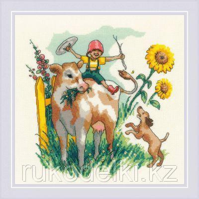 """Набор для вышивания крестом """"Лето в деревне"""""""